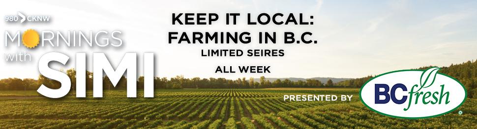 980 CKNW Keep It Local: Farming in B.C. 2021
