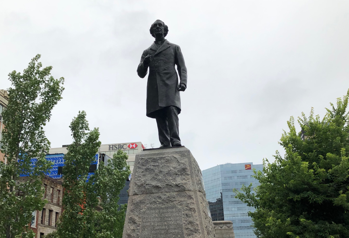 The statue of Sir John A. Macdonald in Gore Park in downtown Hamilton will not be removed by the city after a 12-3 vote at Friday's council meeting.