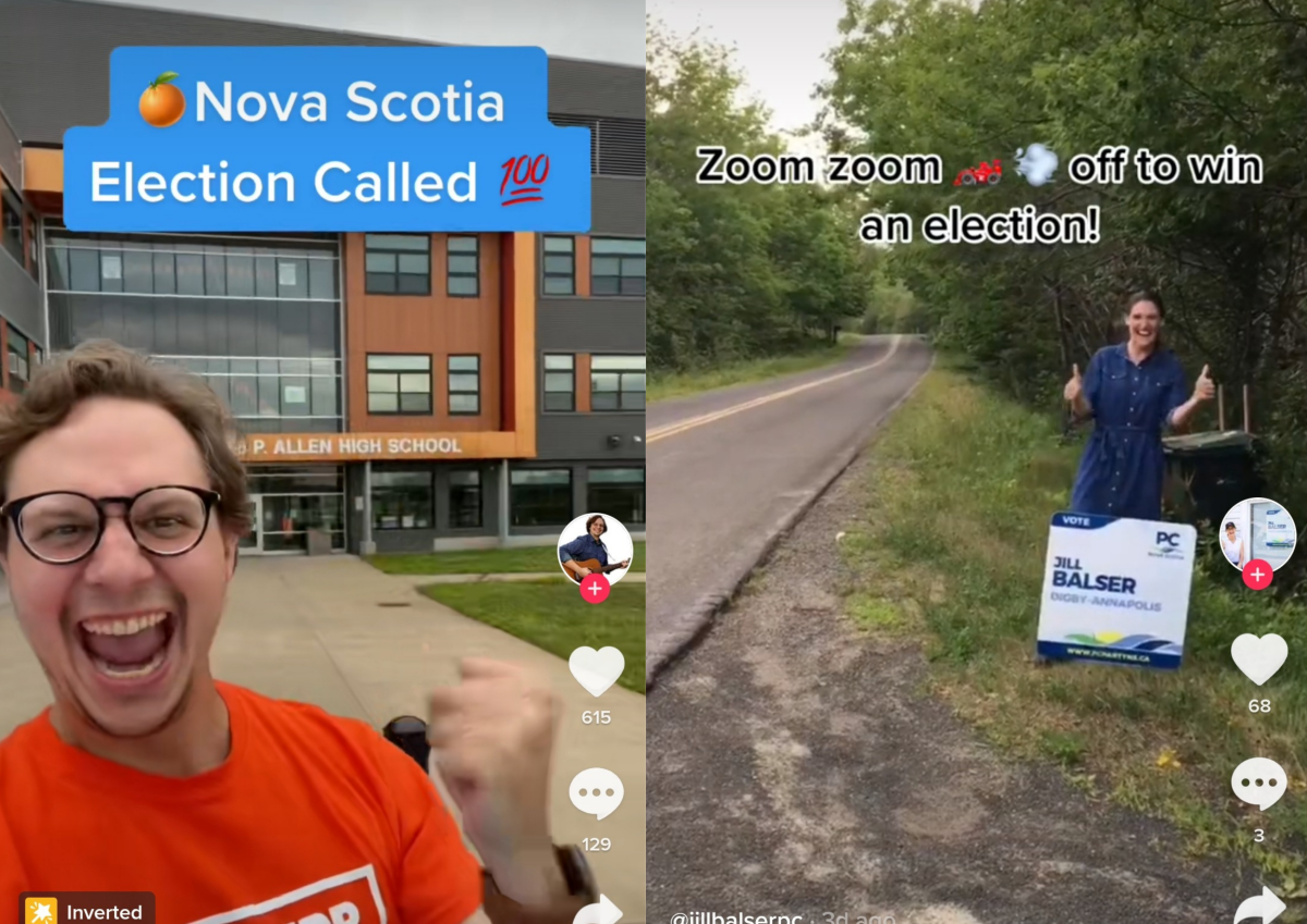 David Paterson with the NDP and Jill Balser with the Progressive Conservatives are using TikTok to engage with voters ahead of the provincial election.