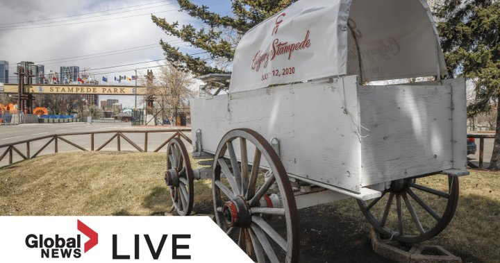 WATCH LIVE: 2021 Calgary Stampede parade on Friday, July 9 – Calgary