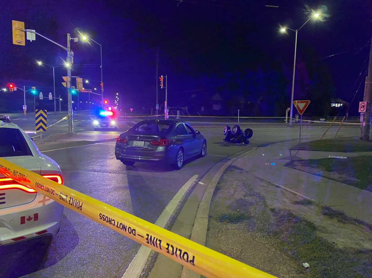 Police said there was a collision involving a vehicle and an ATV near Airport Road and Bovaird Drive East .