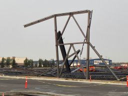 Continue reading: Northwest Edmonton building in early construction stage damaged after windy evening