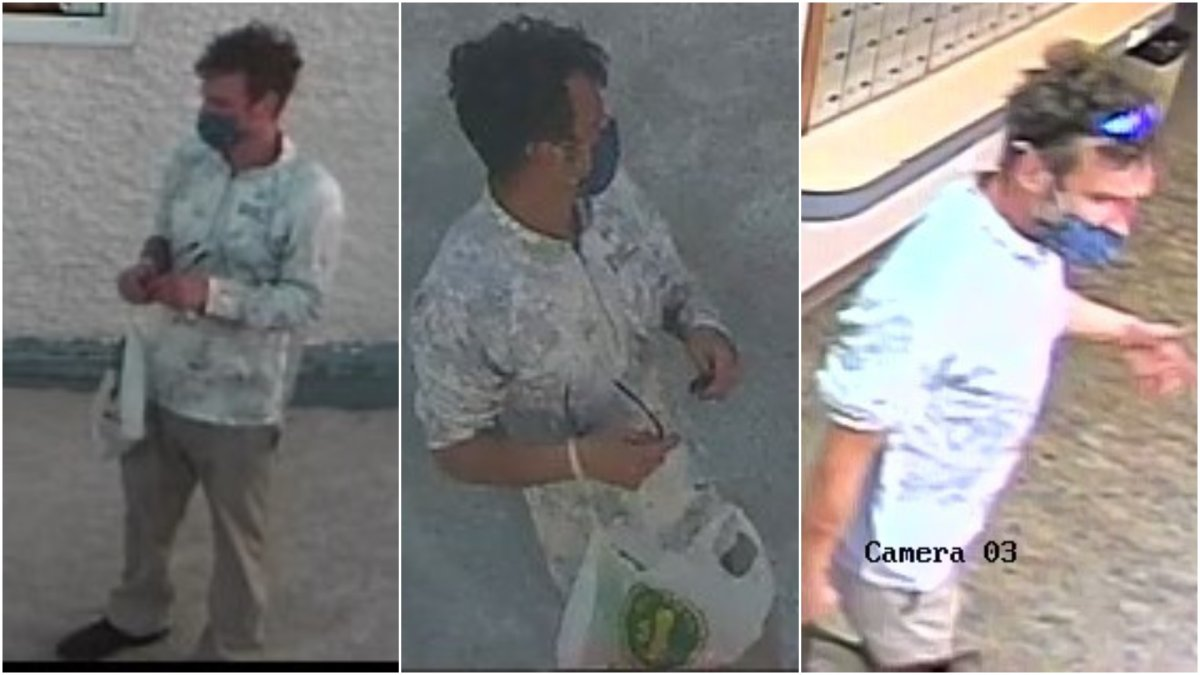 pictures of male related to the incident.