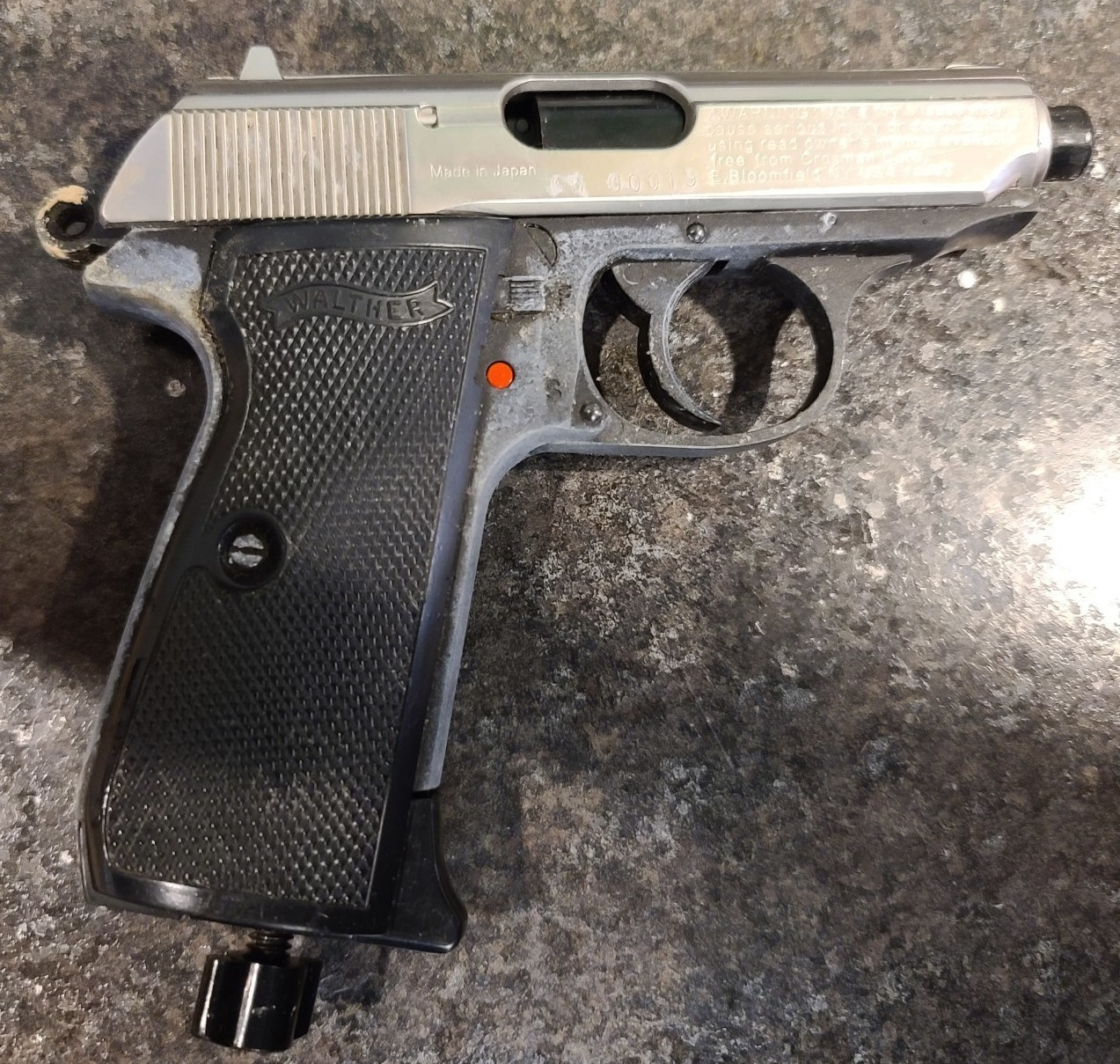 Fredericton police say the firearm at the centre of this weekend's weapons call at the Regent Mall was an air powered BB gun.