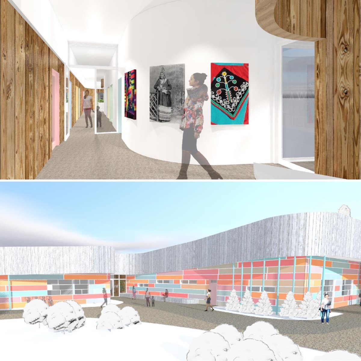 Image of how the new centre will look like.