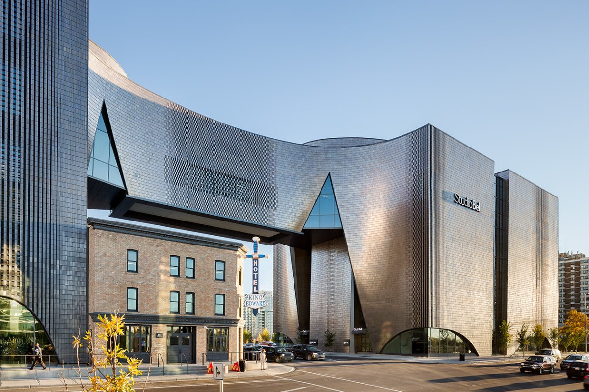 The National Music Centre in Calgary, Alta.