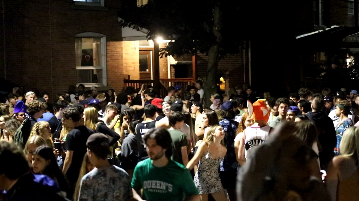 Police say three Queen's University students who live at homes that reportedly hosted the large gathering are facing Reopening Ontario Act fines.