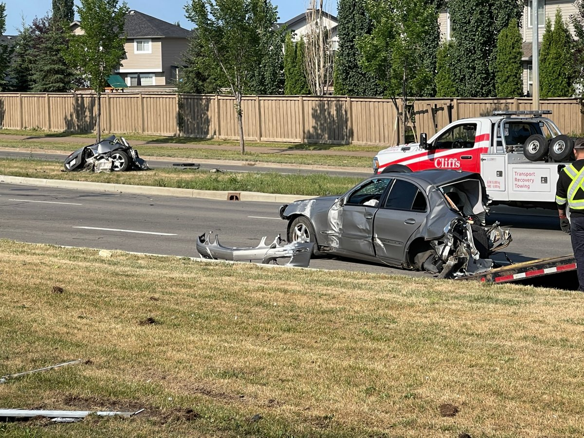Edmonton police say speed and alcohol may have been factors in a deadly crash July 24, 2021.
