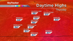 Continue reading: Okanagan weather: no relief from 30-degree heat