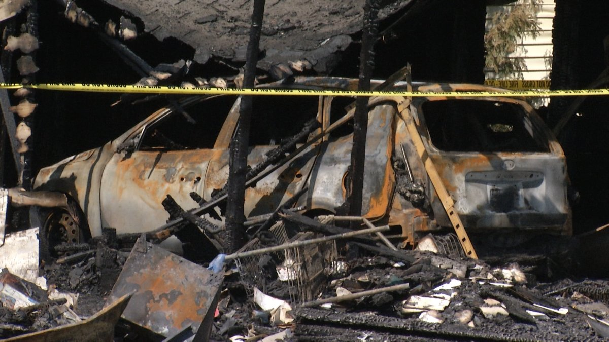 A 25-year-old man died in a suspicious fire in Kingston last week, police say.