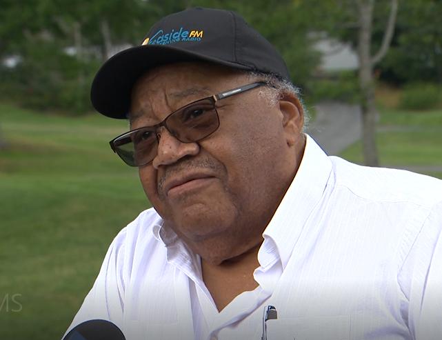 Wayne Adams, first black member of Nova Scotia legislature, speaks with Global News, in Halifax, July 22nd, 2021.