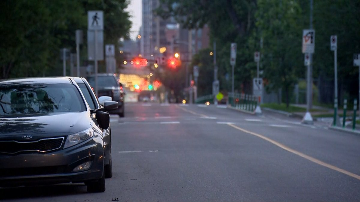 Calgary police investigate after several vehicles had their mirrors smashed in the Mission neighbourhood early Tuesday, July 13, 2021.