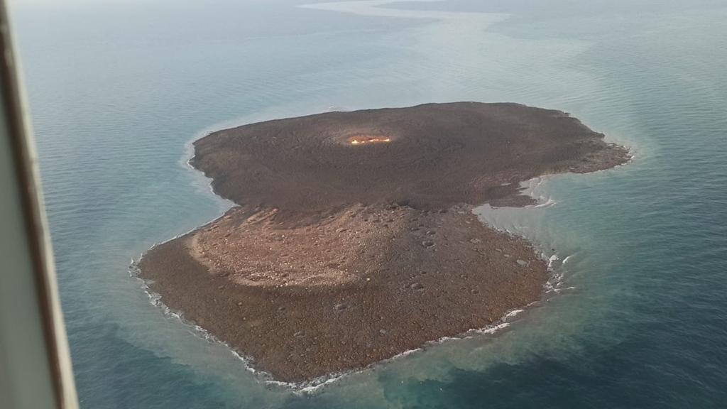 A strong explosion occurred in the Caspian Sea near the coast of Azerbaijan's capital city of Baku, Azerbaijan on July 4, 2021.