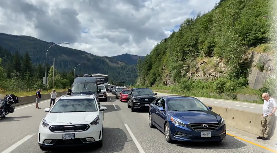 Southbound traffic on the Coquihalla Highway was closed for hours as emergency crews responded to a serious crash.