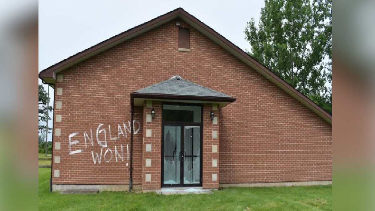 Police in Niagara Falls say they're investigating a vandalism incident at the Italo Canadian Centennial Club believed to have taken place late Thursday night on July 15, 2021.