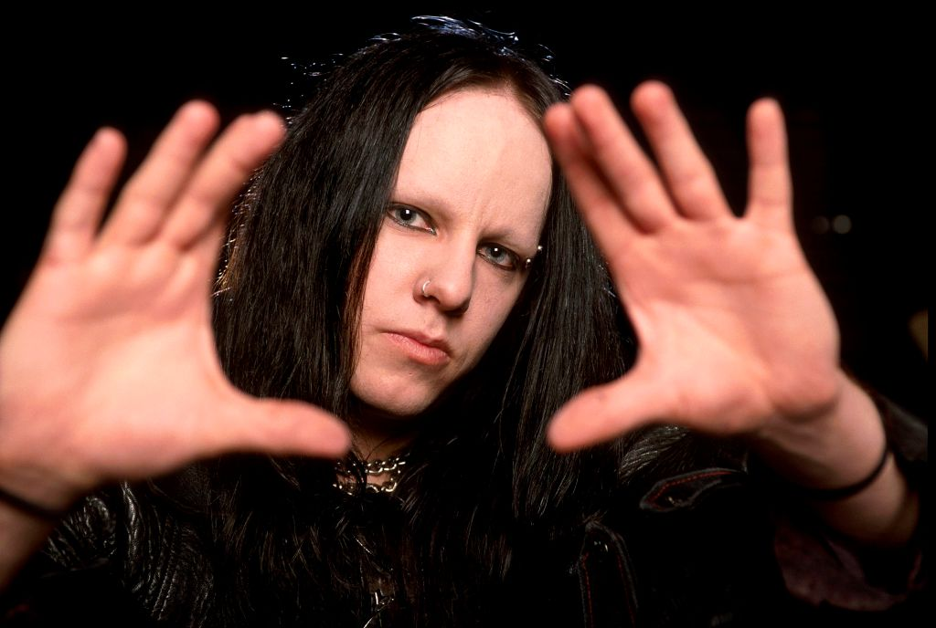 In this file photo, Joey Jordison poses for a portrait on Jan. 28, 2003 in Melbourne, Australia.