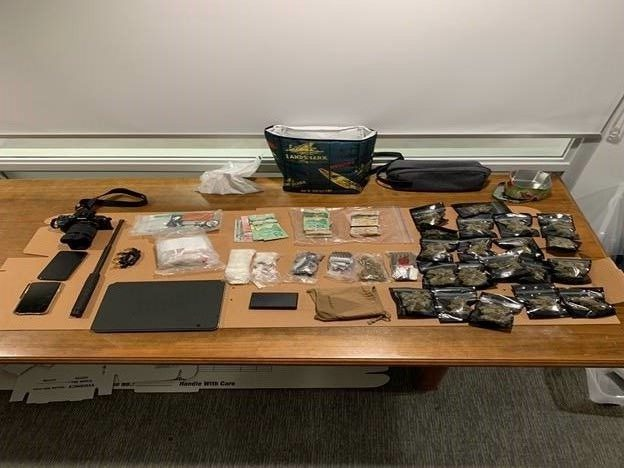 Guelph police say they have seized over $20,000 worth of fentanyl, cocaine and marijuana.