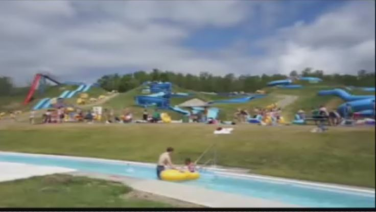 The Kenosee Superslides have been shut down for the year.