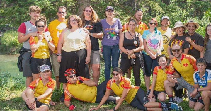 Biking challenge kicks off in Banff to raise money for kids cancer care – Calgary