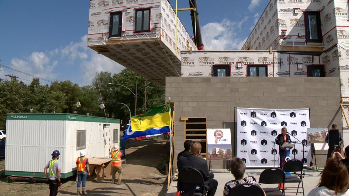 An affordable housing project in Saskatoon is one step closer to seeing Métis elders move into their new homes this fall.