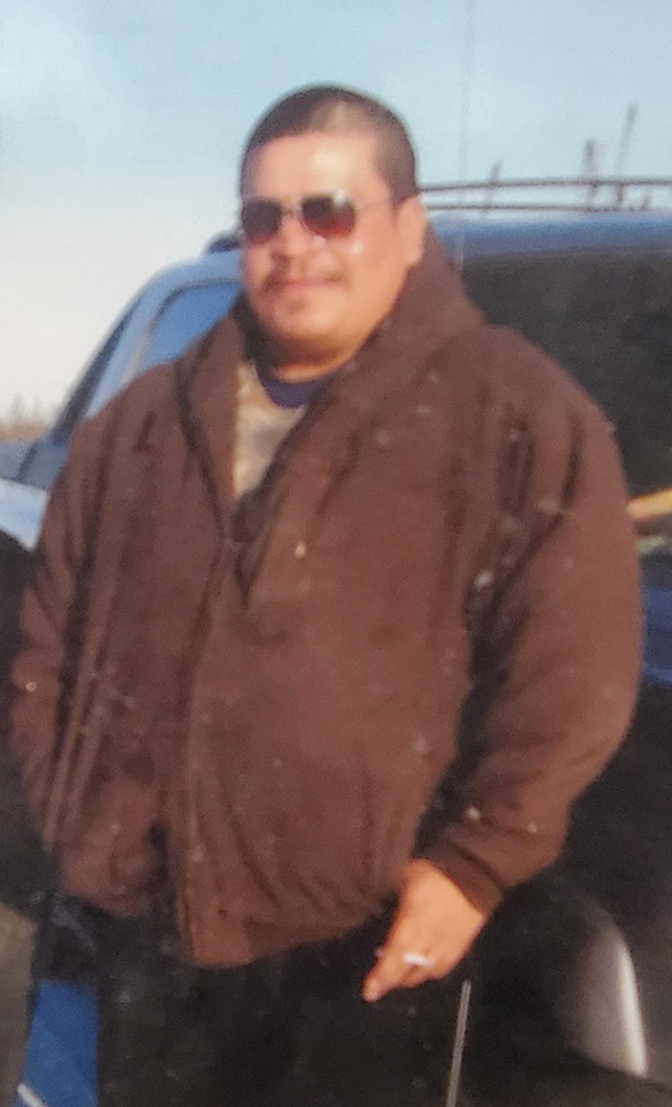 Missing fisherman Leon Redhead.