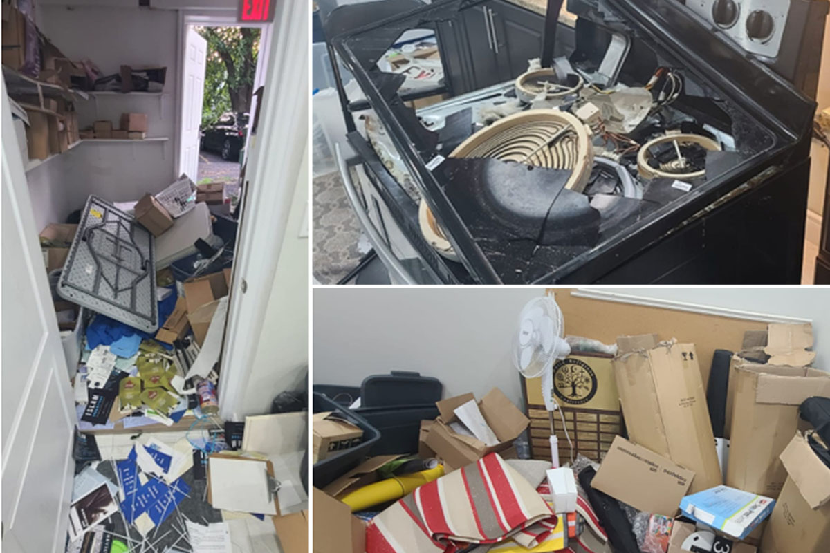 Thousands of dollars in damage were done when a Cambridge mosque was vandalized mid-day, according to Ahmadiyya Muslim Jama`at Canada.