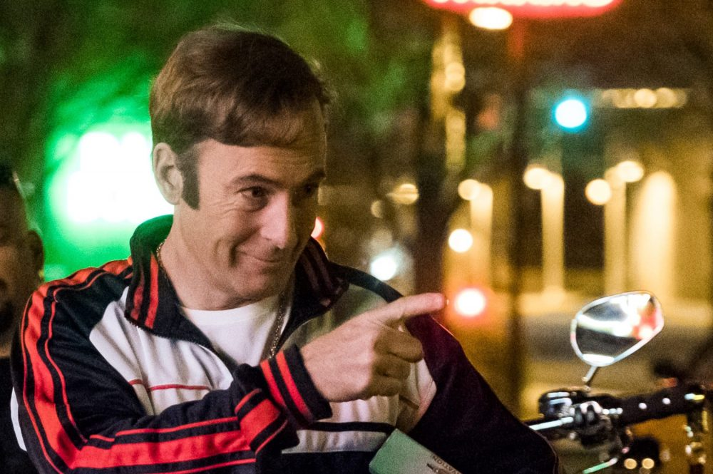 Bob Odenkirk is shown in a scene from 'Better Call Saul.'.