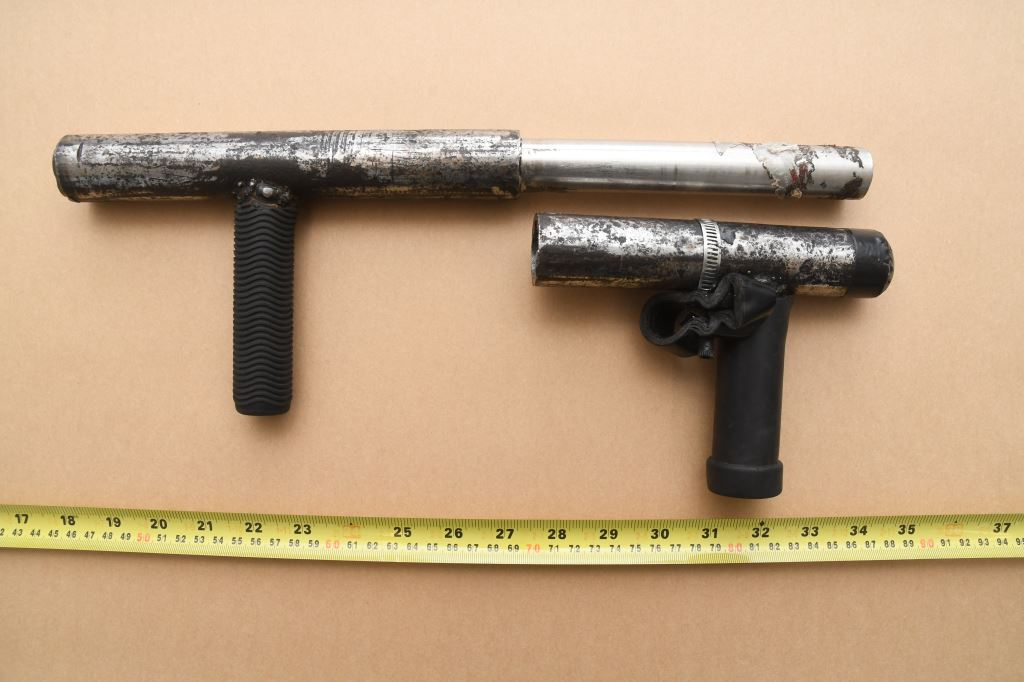 picture of the improvised firearm.