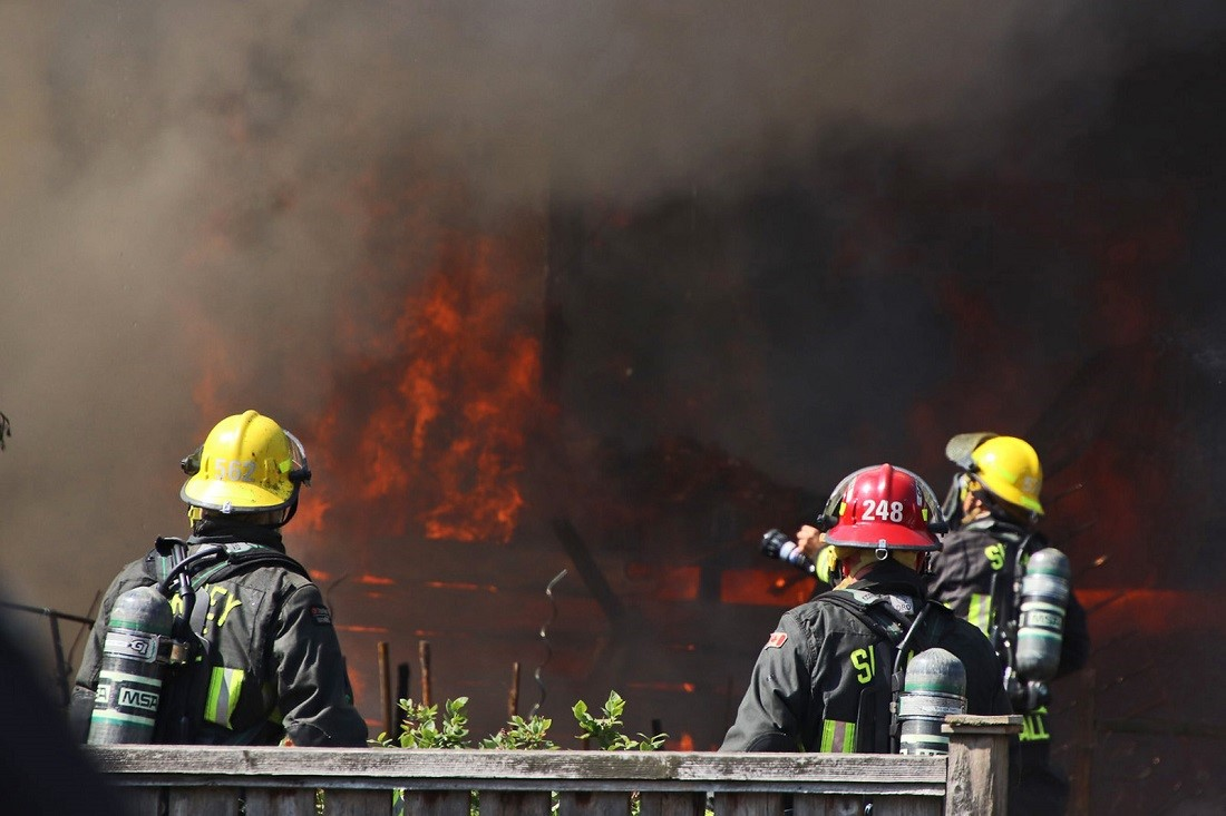 Public asked to avoid part of Whalley as crews battle large house fire - image