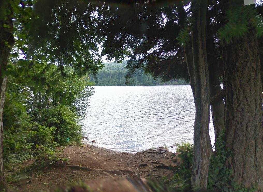 The woman was paddle boarding on Westwood Lake on Sunday, July 25.