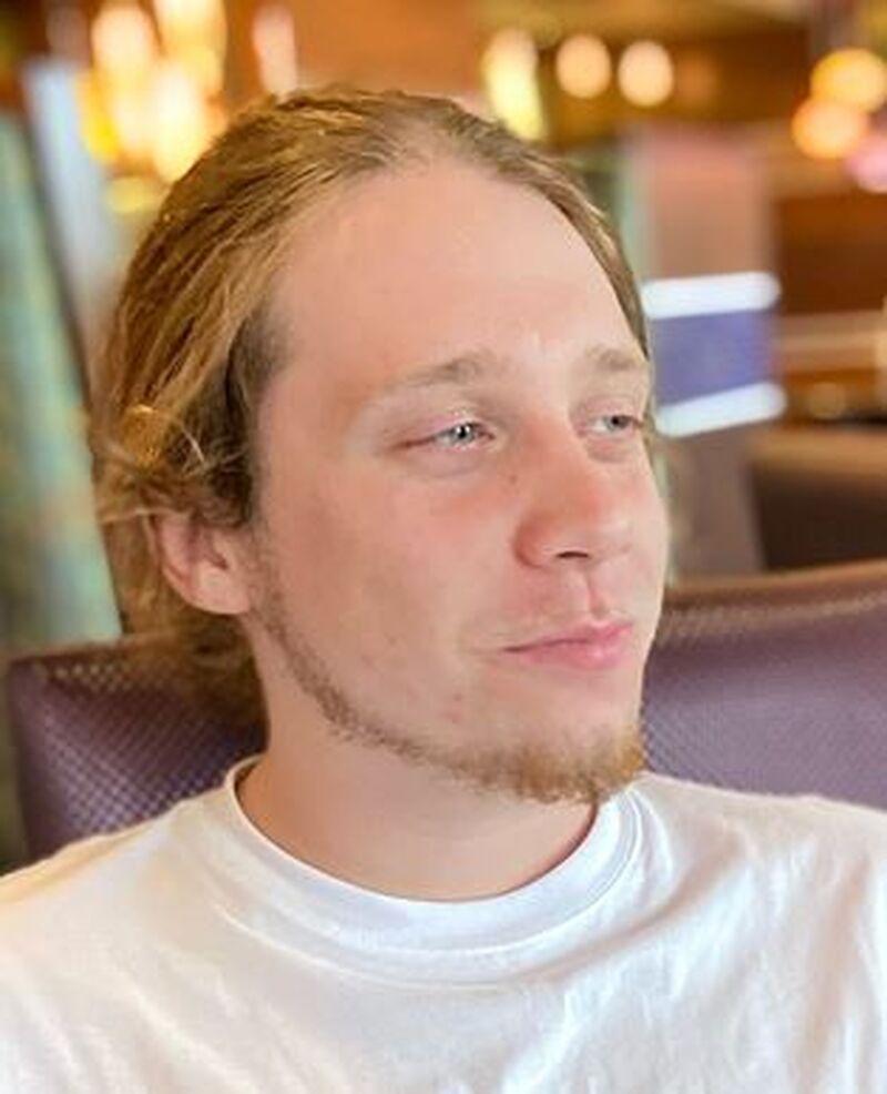 Twenty-three-year-old Adrian Hurley is seen in this undated photo.