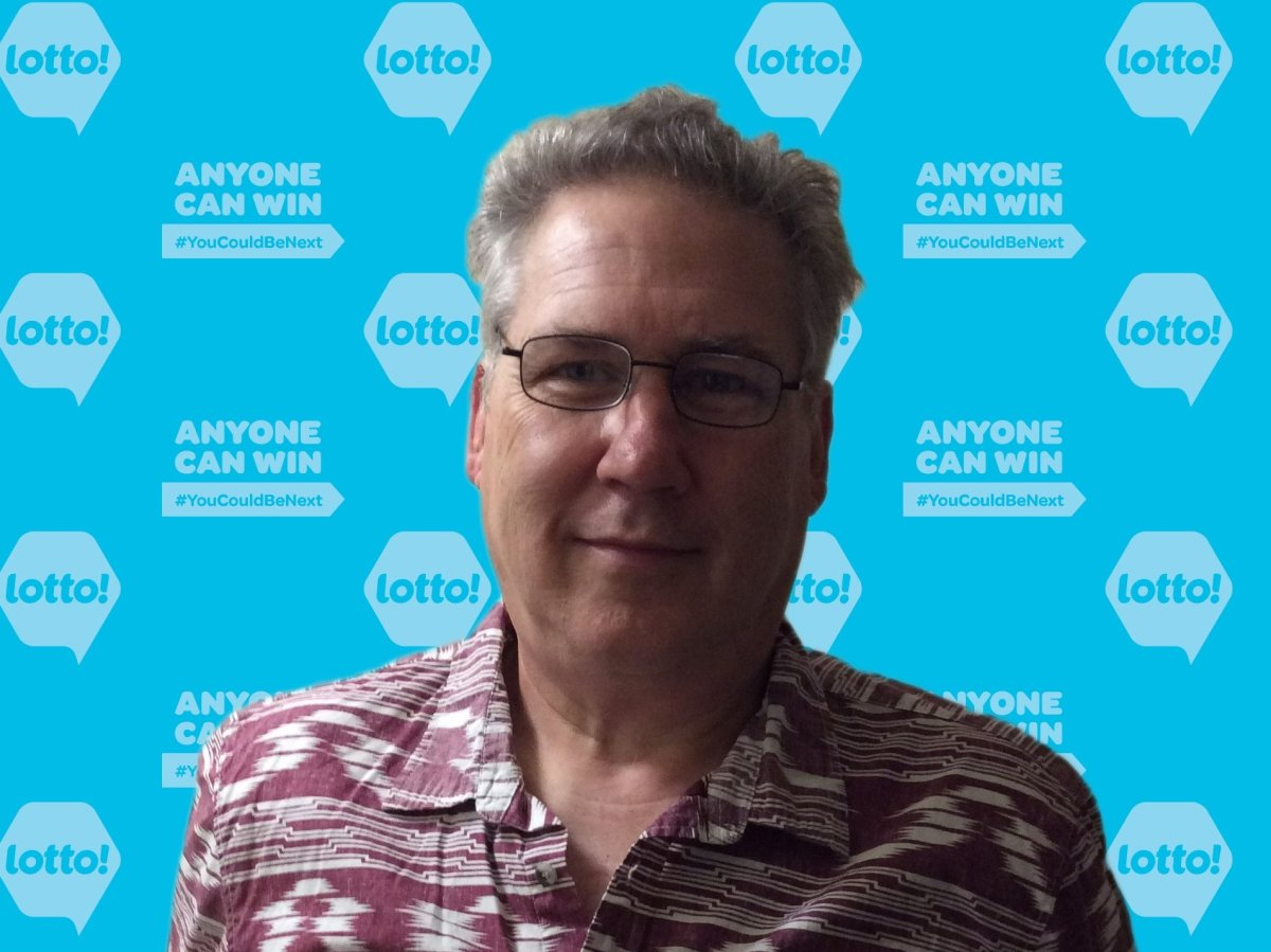 David Strohm of Armstrong said he was shocked to learn he'd won $100,000 from the Lotto 6/49 draw on April 27.
