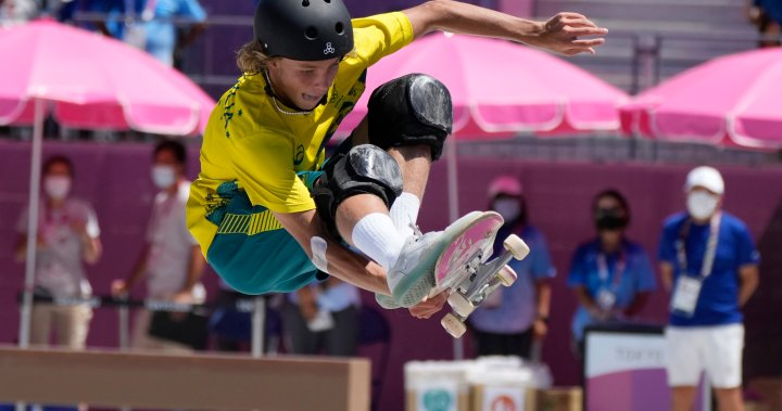 Australia wins men's skateboard park gold, wrapping event's Olympic debut in Tokyo