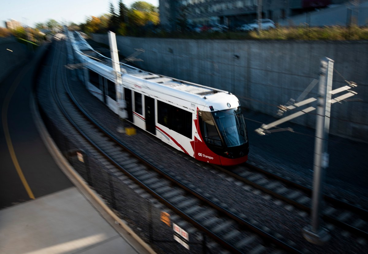 Two Ottawa LRT trains were removed from service Thursday morning for issues with their couplers and heating systems, respectively.