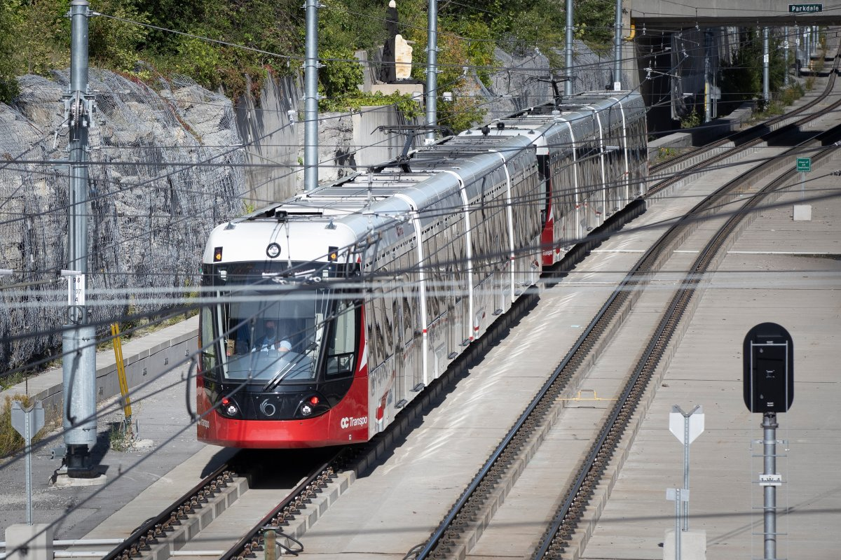 Eight of 39 train cars on Ottawa's Confederation Line LRT will need repairs before they can be put back into service.