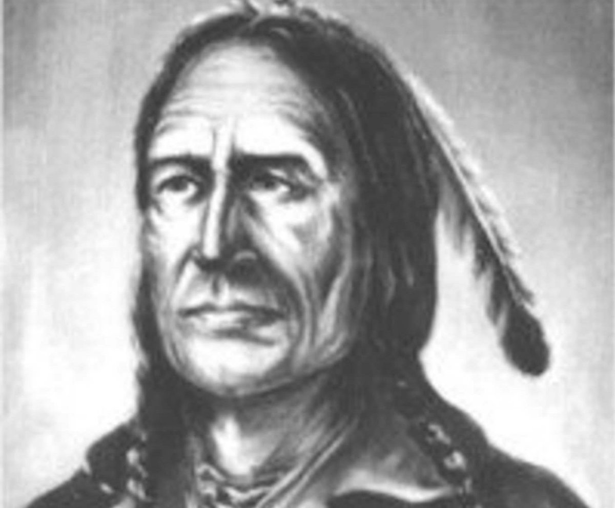 Chief Peguis. Courtesy of the Archives of Manitoba.