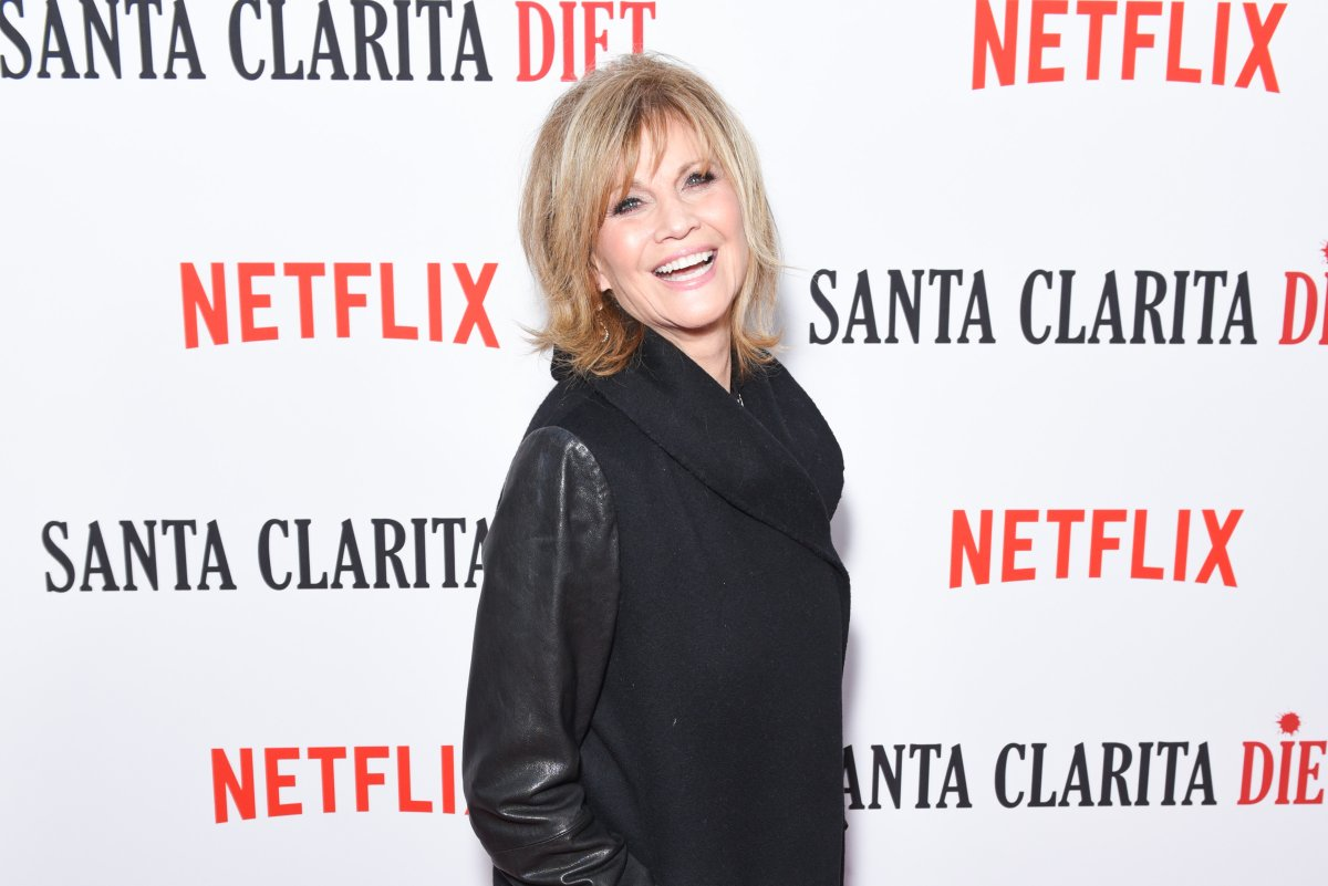 """Markie Post attends """"Santa Clarita Diet"""" Season 2 Premiere at ArcLight Hollywood on March 22, 2018 in Hollywood, California."""