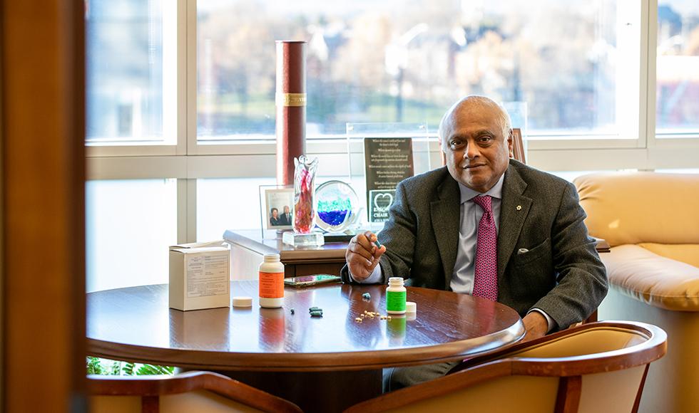 Salim Yusuf, professor of medicine at McMaster University, and chief scientist and cardiologist at Hamilton Health Sciences.