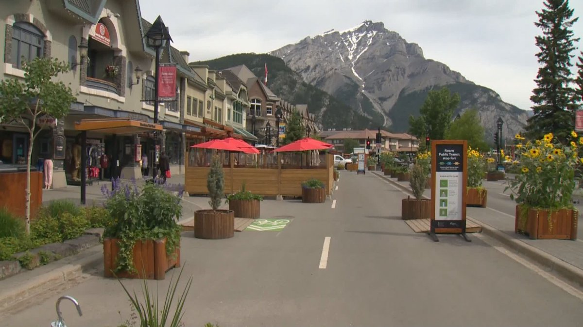 Businesses in Alberta's tourist towns are preparing for a busy winter season, but without the usual influx of temporary foreign workers.