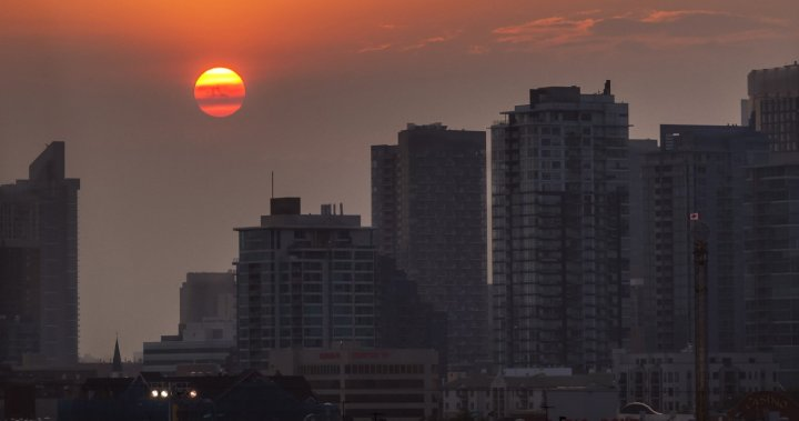 Alberta continues to set records during hot, smoky summer