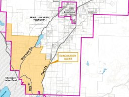 Continue reading: Evacuation alert re-issued for part of Spallumcheen because of White Rock Lake wildfire