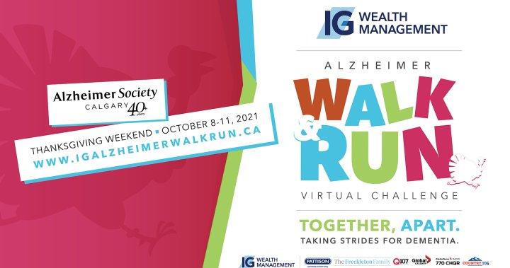 Alzheimer Walk & Run 2020, supported by Global Calgary – Calgary
