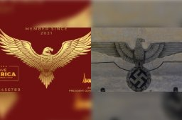 Continue reading: Proposed 'Trump Card' design compared to Nazi Third Reich imagery