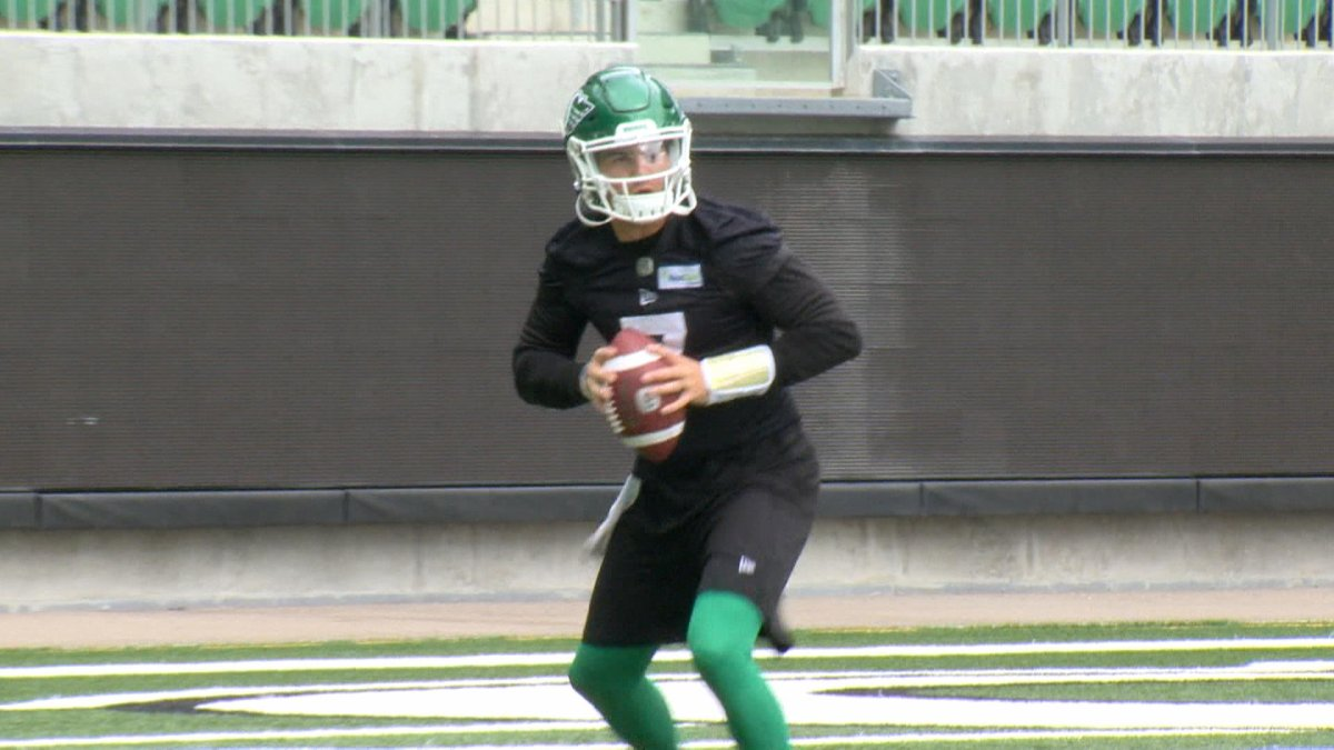 Saskatchewan Roughriders quarterback Cody Fajardo is dealing with a concussion suffered in the Banjo Bowl, leaving his status for this week still unknown.