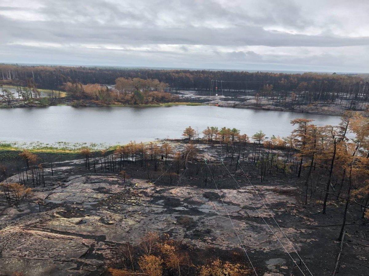 Manitoba Hydro wildfire restoration 2021