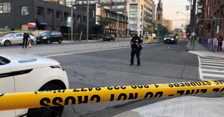 Man in his 20s seriously injured after shooting in downtown Toronto – Toronto