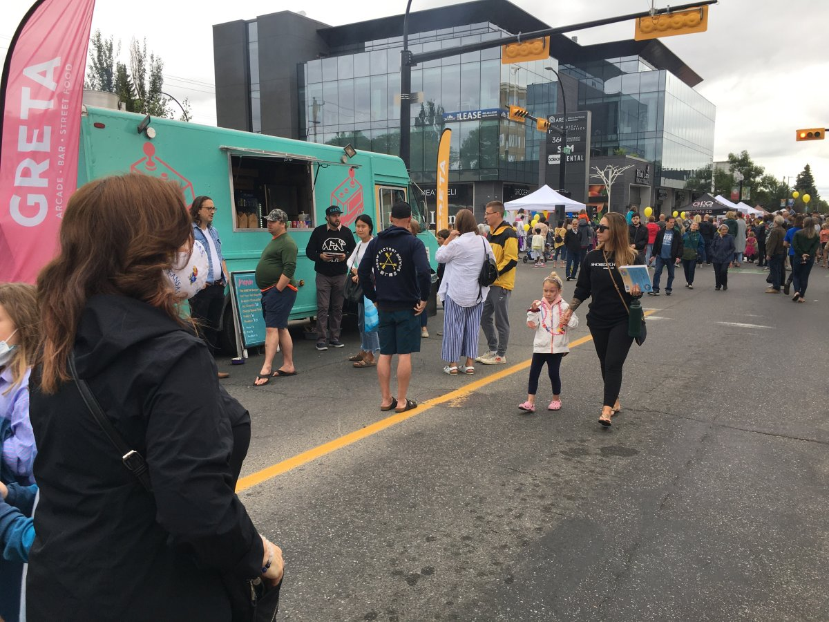 Marda Gras street festival returned to Calgary August 8, 2021.