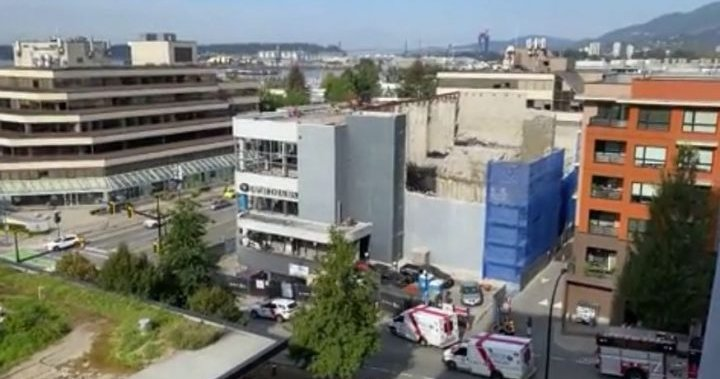 North Vancouver structure collapse sends one person to hospital – BC