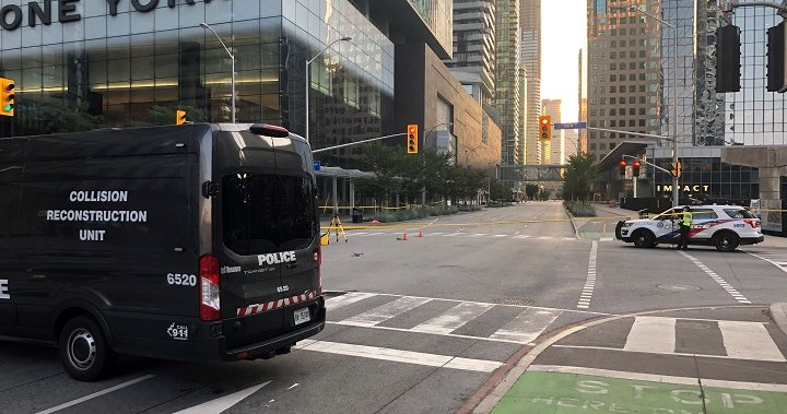 Police arrest man after hit and run kills pedestrian in downtown Toronto – Toronto