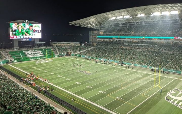 The Roughriders' much-anticipated contest against the Blue Bombers on Sept. 5 is sold out.
